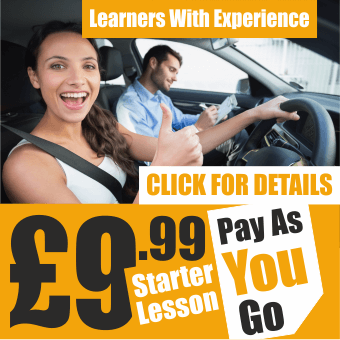 1st driving lesson £9.99
