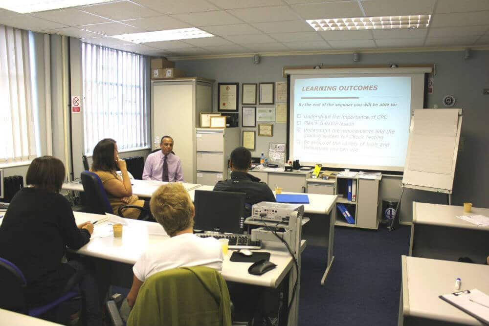 Driving Instructor Training Classroom