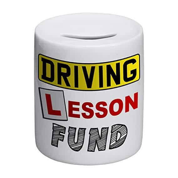 driving lesson fund money pot